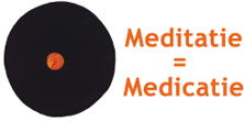 Logo Meditatie is Medicatie